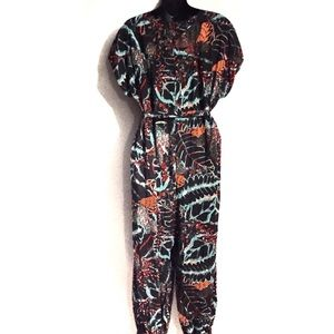 Anthropologie Pants - Maeve Geoscope Jumpsuit by Anthropolgie Size M